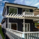 Berowra builder for home extension - back deck from side view