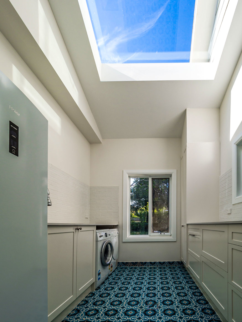 Berowra builder for home extension - laundry