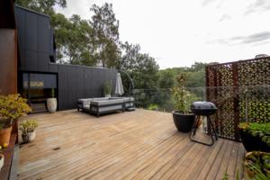 Views from split level home design